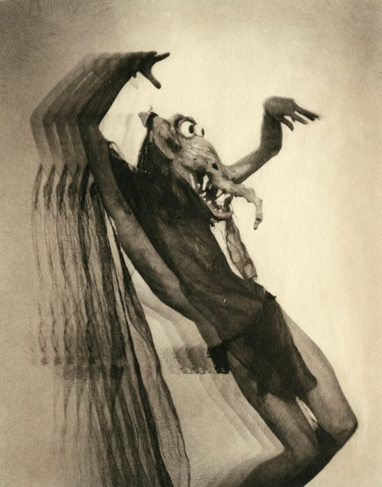 William Mortensen- Taken In West of Zanzibar , 1928 published in  New Projection Control, 1942