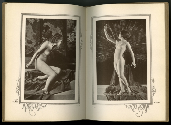 Xan Stark -nude magazine pictorial titled Alta Art Studies,Vol. II, 1921