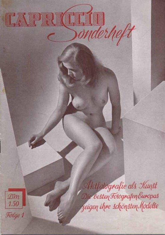 Zoltán Verre couvre Magazine Capriccio 1 1959