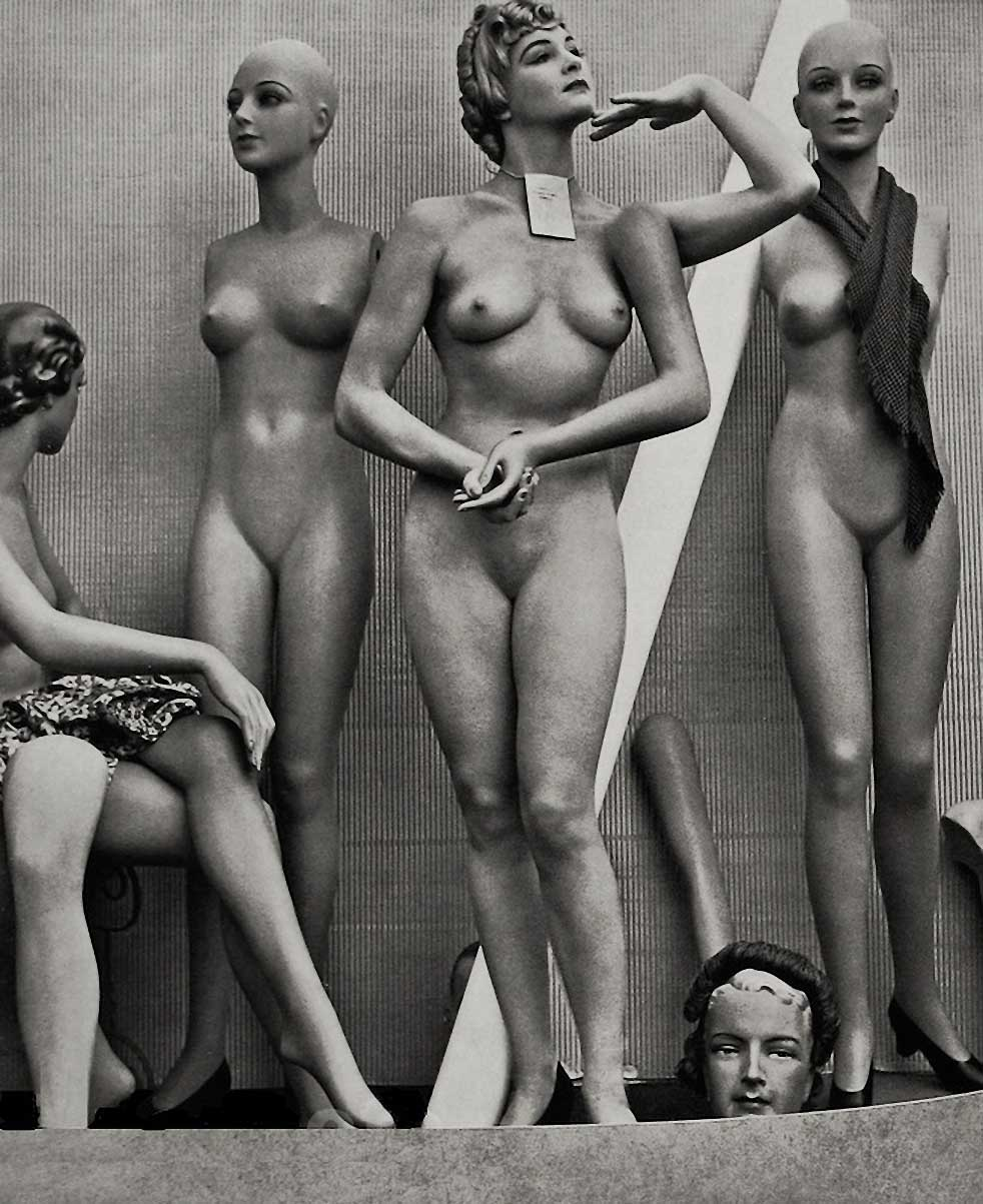 Zoltán Verre Mode Mannequin, 1950.