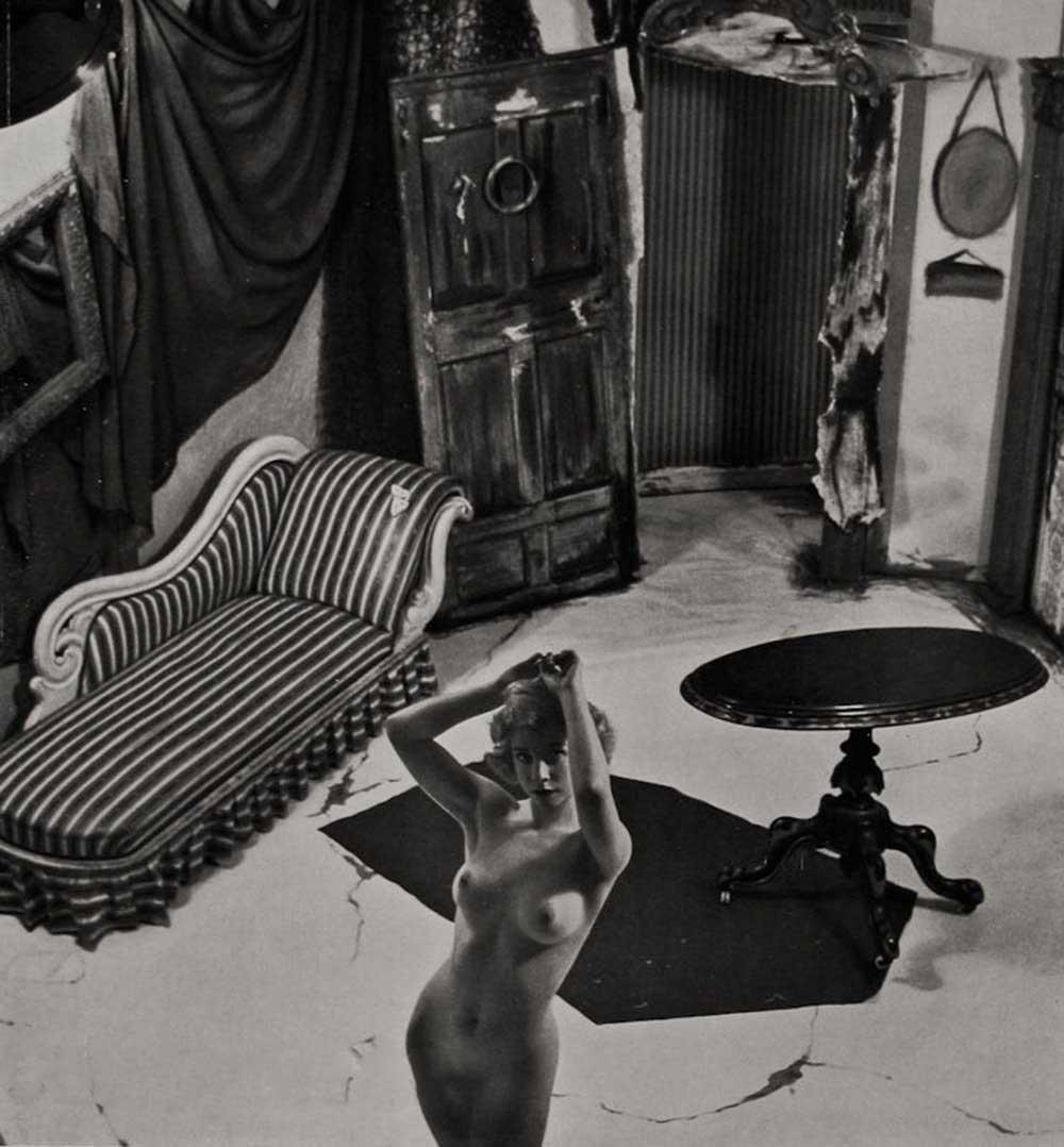 Zoltán Verre Femme nue étude, 1950