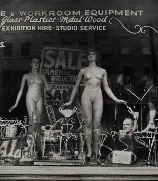 Zoltán Verre mannequin, 1950