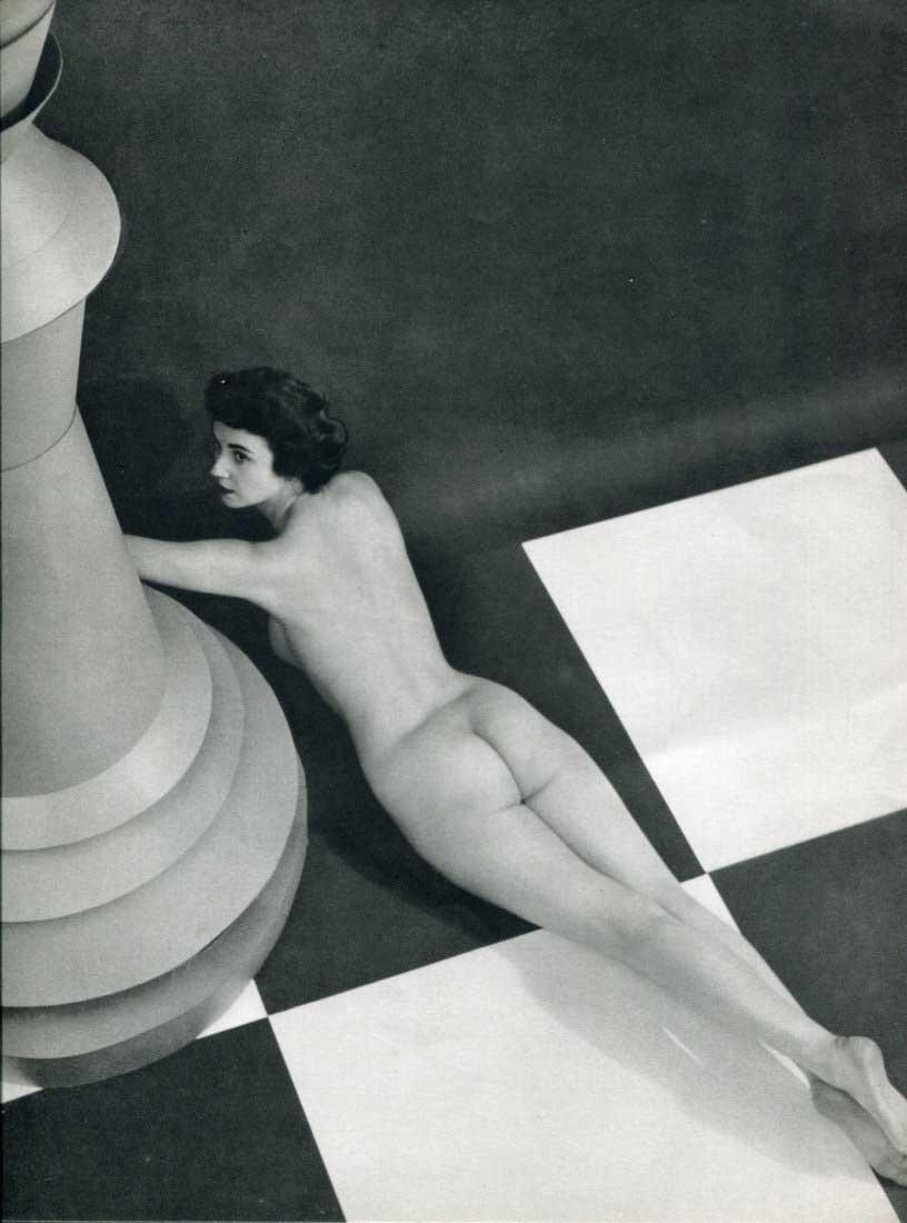 Zoltán Verre Nu couché, 1950
