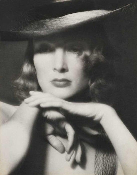 Zoltán Verre Femme au chapeau 1960