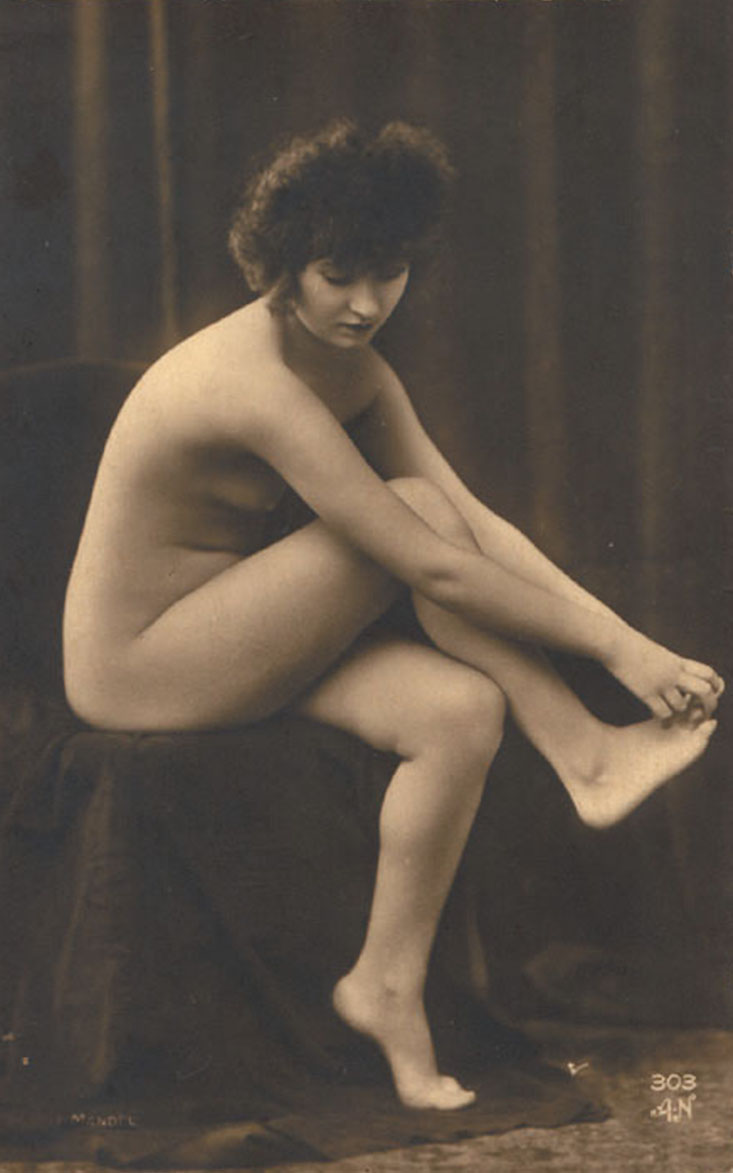 Julien Mandel  -  ( A Noyer editeur)- Nu, 1920s