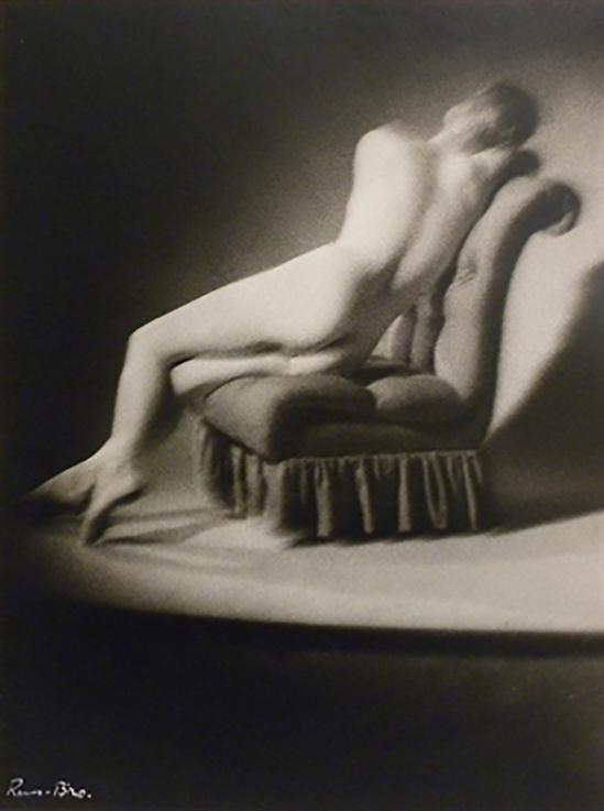 Emery Révész Bíró  Nude Distortion, 1947