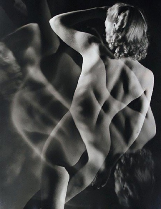 Emery Révész Bíró -Nude study ( surimpression), 1935