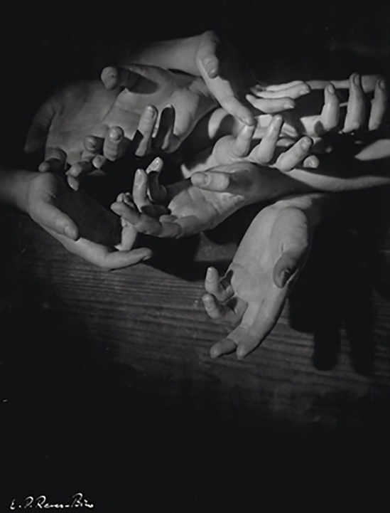 Emery Révész Bíró- Untitled (Hands),1935