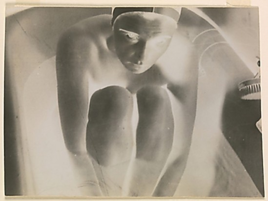 © Franz Roh-[Nude in Tub] , 1922–28