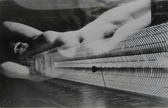 © Franz Roh- Ohne Titel-  surimpression, 1925-26
