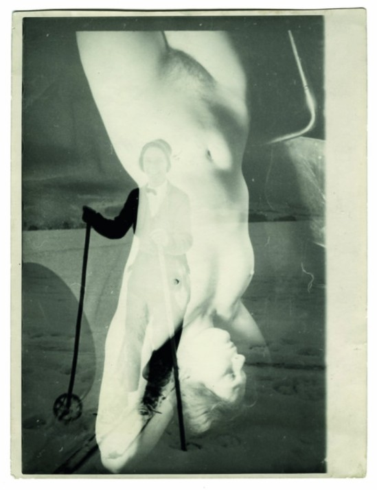 Franz Roh- Untitled Skier & Nude, 1925