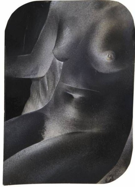 © Franz Roh- Untitled (Woman's torso), 1922-1928