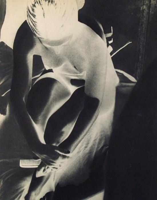 © Franz Roh - White Nude., photogravure. 1931