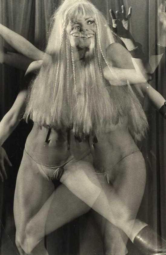 Giancarlo Botti-  Le Crazy Horse,Paris 1956