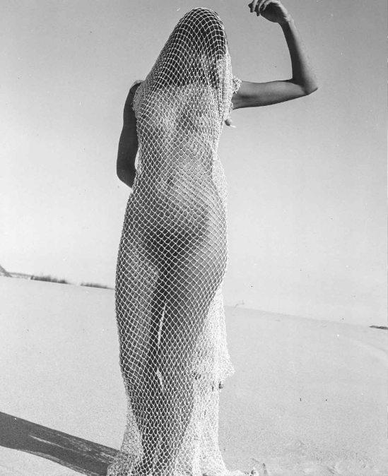 Herbert Matter - Mercedes, Nude in Net, 1940