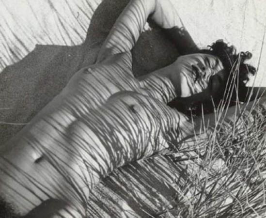 Herbert Matter- mercedes, nude in reeds, 1940