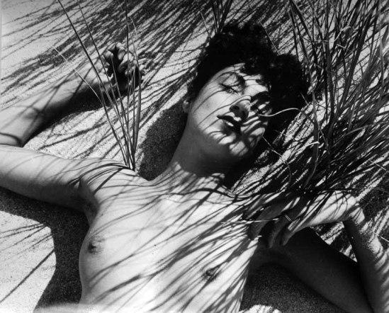 Herbert Matter Nude in Reeds, 1940