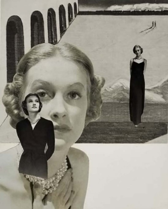 Herbert Matter  Untitled (fashion collage), 1945