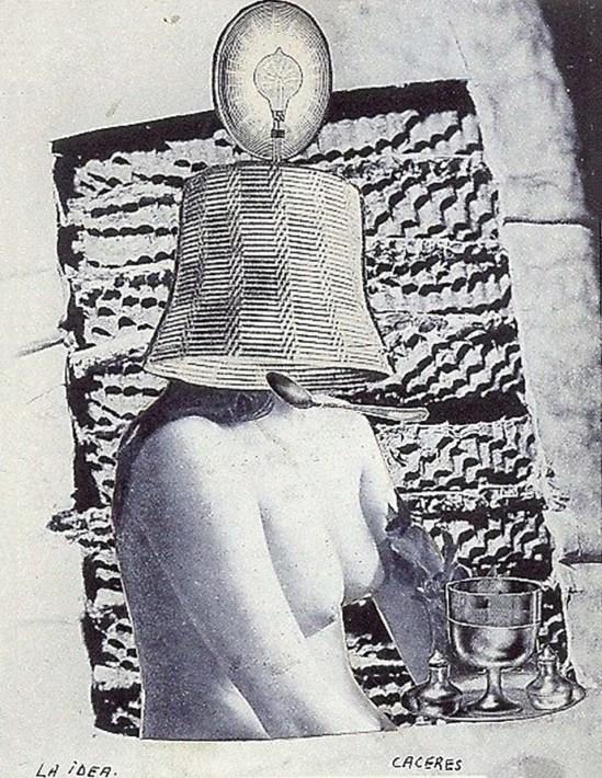 Jorge Caceres -  La idea , 1940 ( source andré breton)