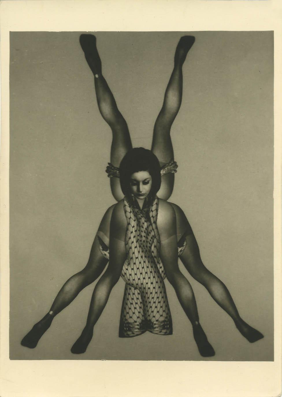 Pierre Molinier- Féminin pluriel est triste, planche 32, 1967, Le Chaman et ses créatures, 1965-1968