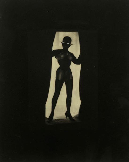 """Pierre Molinier Le Chaman, à Toute Marge, planche 1 """" Chaman et ses créatures"""", 1965"""