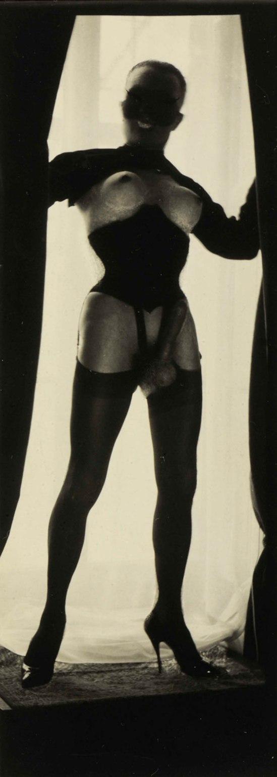 Pierre Molinier- Le Chaman, variante de la planche qui ouvre Chaman et ses créatures.1965-1968