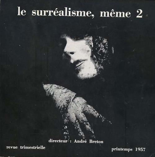 Pierre Molinier- le surréalisme, même 2, printemps 1957. Cover by Pierre Molinier.