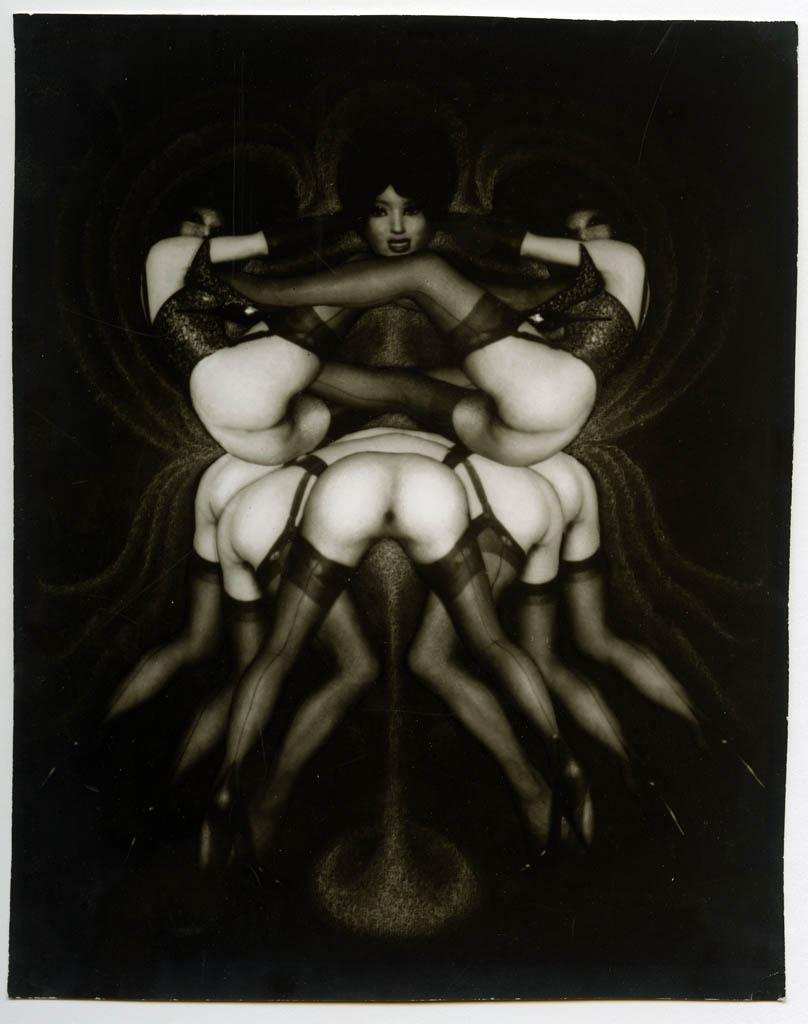 Pierre Molinier- Le triomphe des tribades ou Sur le pavois, 1967 pour le chaman et ses créatures