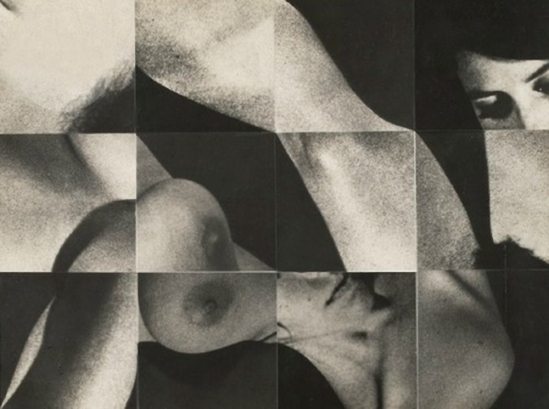 Robert Heinecken - from 12 Figure Squares #2, 1967
