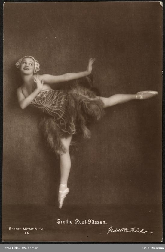Waldemar Eide - Grethe Ruzt-Nissen, nd