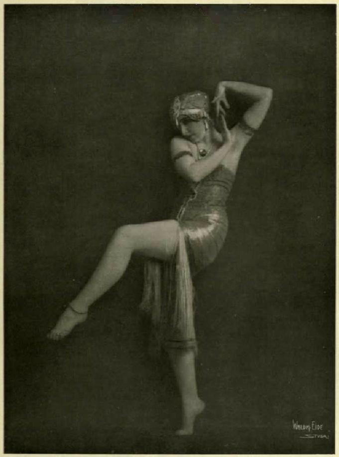 Waldemar Eide- Vera Fokina in Dance of Salome, Photograms of the Year 1920