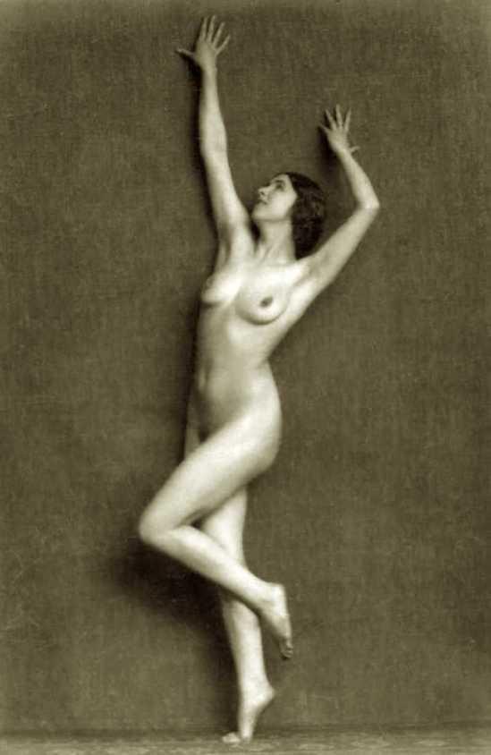 Waldemar Eide - study of nude, 1930