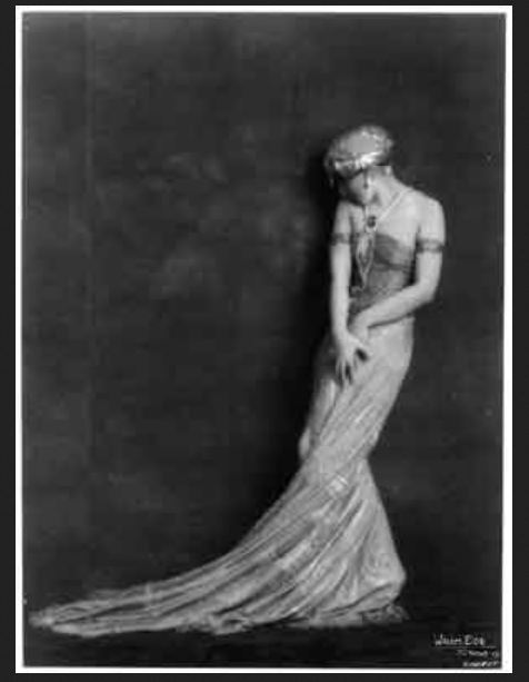 Waldemar Eide -Vera Fokina, figure de danse, 1919