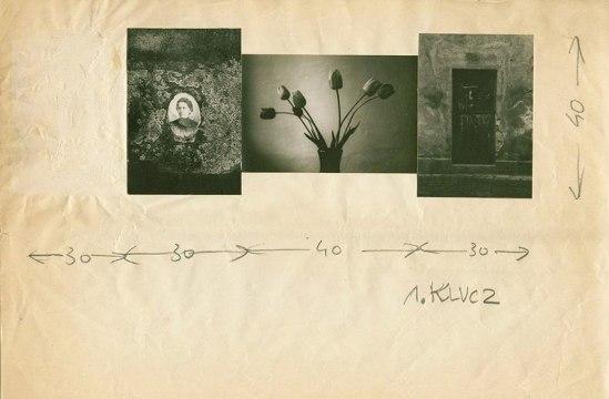 Zdzisław Beksiński- Untiteld, collage 1950s