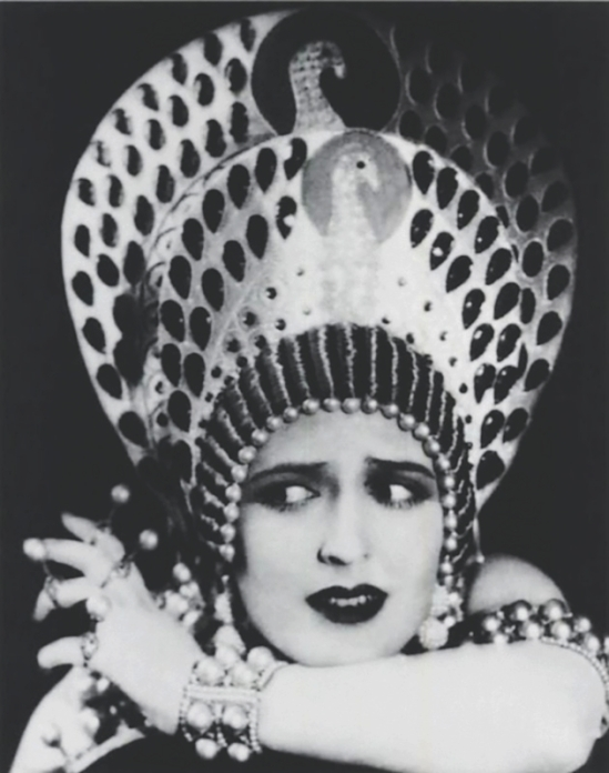 Carmel Myers in Ben Hur ,A tale of the Christ directed by Fred Niblo, costume by Erté, 1925.