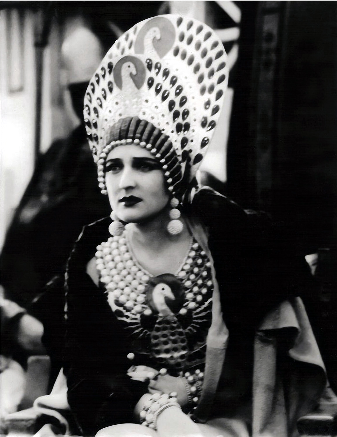 Carmel Myers in Ben Hur ,n A tale of the Christ directed by Fred Niblo, costume by Erté, 1925.
