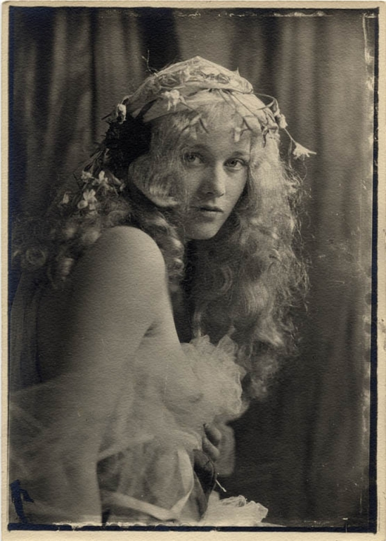 Charles Gates Sheldon – Portrait of the silent film star Dolores Costello c. 1920s