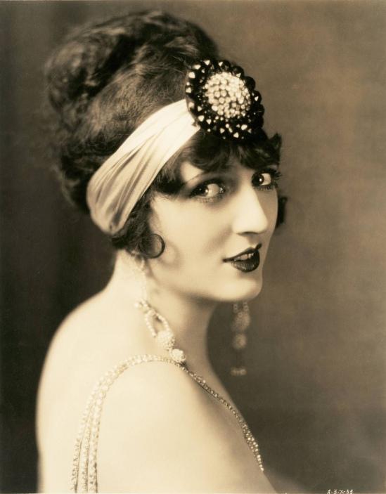 Clarence Sinclair Bull-Portrait of Carmel Myers, 1920