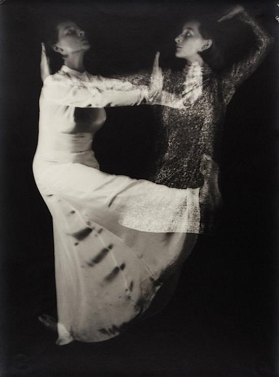 Edmund Kesting -Rythmisher Tanz im Doppelbelichtung (Dore Hoyer) Late 1920s