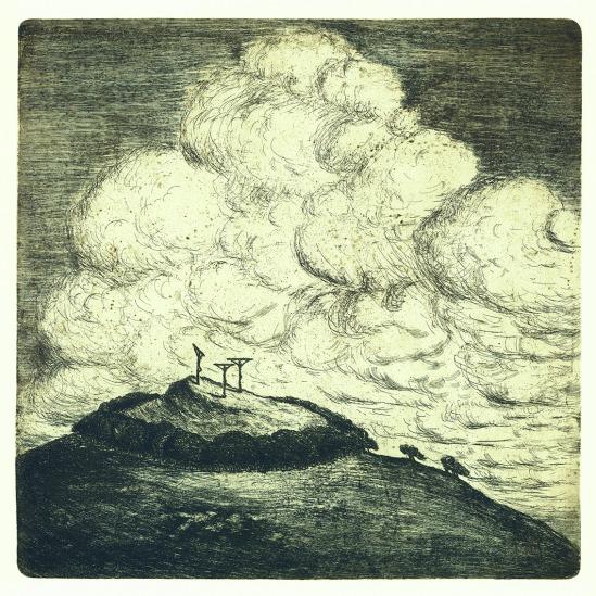 František Drtikol- Untitled etching, 1910-20