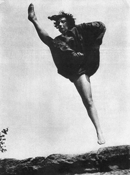 Franz Fiedler – Gret Palucca,Sprungmoment (Sudden Moment), 1926
