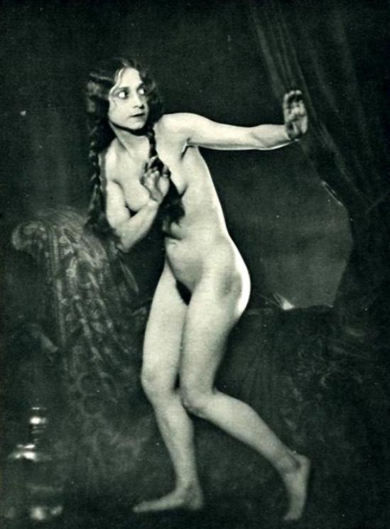 Franz Fiedler – Nu théatral, 1930