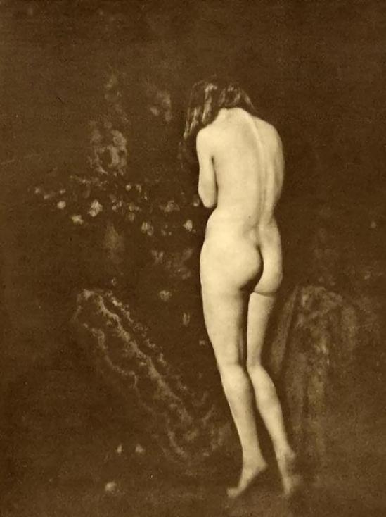 Franz Fiedler- Nu de dos sur la pointe des pieds, 1930