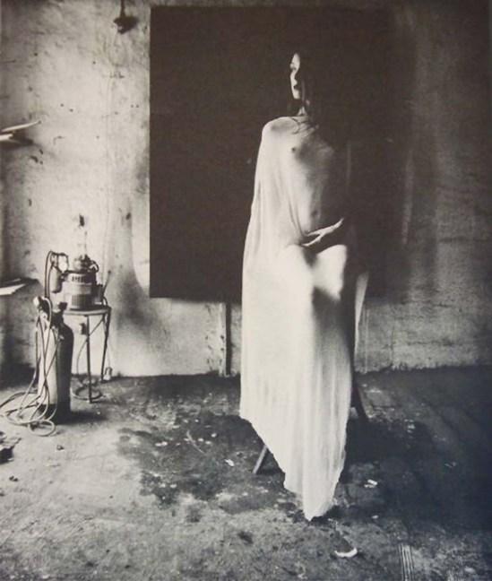 Karin Székessy  Sans titre [Dans l'atelier de Paul Wunderlich]. 1969