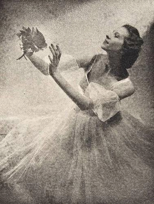 Laure Albin-Guillot-Janine Charrat ( french dancer, choreographer, and ballet director) c.1946