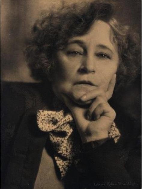 Laure Albin Guillot - Portrait de l'ecrivain Colette photogravure, 1939