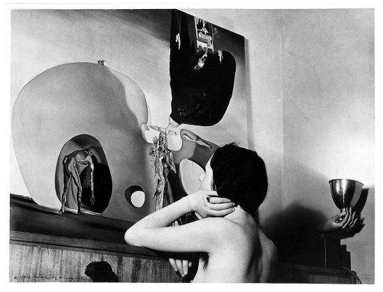 Man Ray - Gala Dali and The Birth of Liquid Desires, 1935©  Man Ray Trust