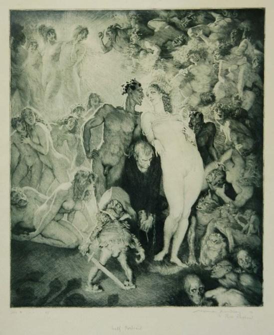 Norman Lindsay - Self Portrait ,1930.1