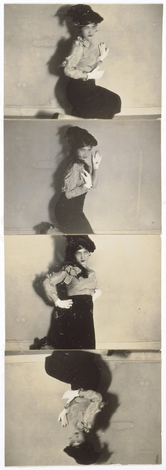 Renata Bracksieck - Untitled, self portrait, germany,1920s