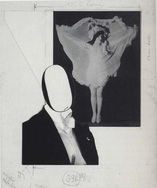"""John Heartfield, Montage for Kurt Tucholsky, """"Deutschland, Deutschland über alles"""", Design for Page 101, Berlin, 1929"""